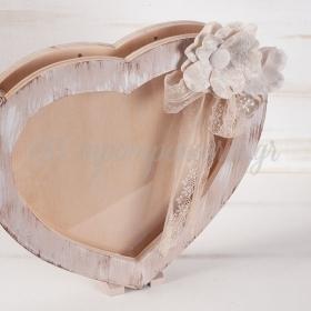 Κουτι Ευχων Καρδια Με Plexiglass 29X4X28Cm - ΚΩΔ:Ze108-Pr