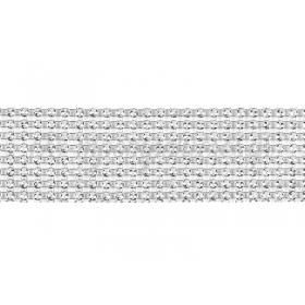 Κορδελα Οψη Στρασς 4X9Cm - ΚΩΔ:492836-Nt