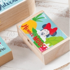 Ξύλινο Κουτάκι Minnie Tropical 10.5x7x4cm - ΚΩΔ:NA1104-PR