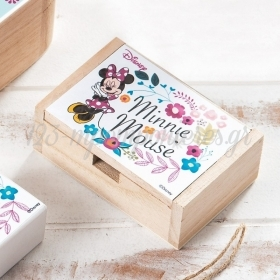 Ξύλινο Κουτάκι Minnie Bloom 10.5x7x4cm - ΚΩΔ:NA1130-PR