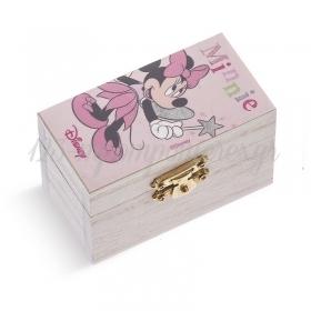Ξύλινο Σεντούκι Minnie Νεράιδα 8.5x4.5x5cm - ΚΩΔ:NA155-PR