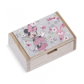Ξύλινο Κουτάκι Minnie Νεράιδα 2 10.5x7x4cm - ΚΩΔ:NA162-PR