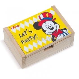 Ξύλινο Κουτάκι Mickey Carnival 10.5x7x4cm - ΚΩΔ:NA2104-PR