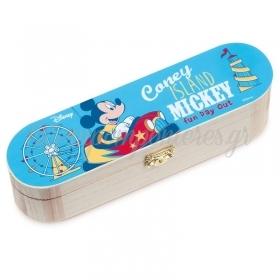 Ξυλινη Κασετινα Mickey Fun Day Out 23X6X6Cm - ΚΩΔ:Na2115-Pr