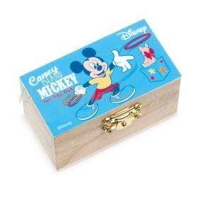 Ξυλινο Σεντουκι Mickey Fun Day Out 8.5X4.5X5Cm - ΚΩΔ:Na2117-Pr