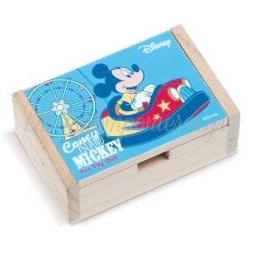 Ξύλινο Κουτάκι Mickey Fun Day Out 10.5x7x4cm - ΚΩΔ:NA2118-PR