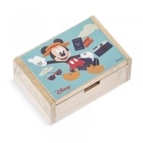 Ξύλινο Κουτάκι Mickey Travel 10.5x7x4cm - ΚΩΔ:NA240-PR