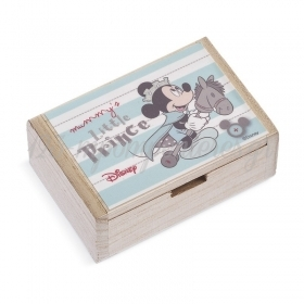 Ξύλινο Κουτάκι Mickey Prince 2 10.5x7x4cm - ΚΩΔ:NA263-PR