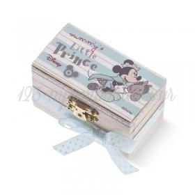 Ξύλινο Σεντούκι Mickey Prince 8.5x4.5x5cm - ΚΩΔ:NA265-PR