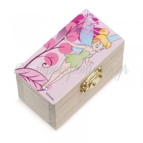 Ξυλινο Σεντουκι Little Tinkerbell 8.5X4.5X5Cm - ΚΩΔ:Na452-Pr