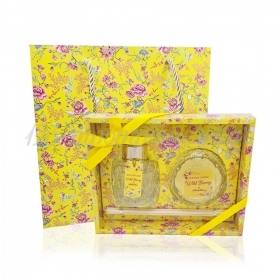 Σετ δώρου κερί και αρωματικό χώρου κίτρινο Wild Berry - ΚΩΔ:ST00667-SOP