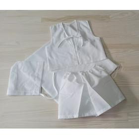 Λαδόπανα Σκέτα Χωρίς Πετσέτα Για Αγόρι Λευκά - ΚΩΔ:16100-W1-Al