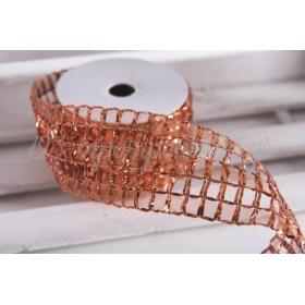 Κορδέλα δίχτυ lurex 60mm - 9.14m - ΚΩΔ:660066-NT