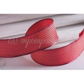 Κορδέλα lurex κόκκινο 40mm - 9.14m - ΚΩΔ:670917-NT