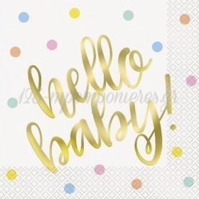 Χαρτοπετσέτες Hello Baby - ΚΩΔ:73522-BB