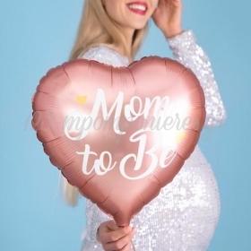 """Μπαλόνι Foil 14""""(35Cm) Mom to Be Ροζ - ΚΩΔ:FB92-081-BB"""
