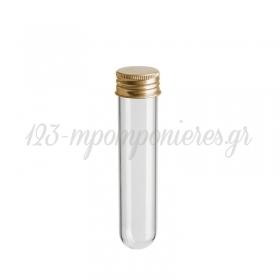 Γυάλινος Σωλήνας 10Χ2.5cm - ΚΩΔ:1230-10-PR