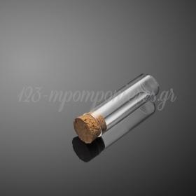 Γυάλινος Σωλήνας 10Χ2.5cm - ΚΩΔ:13A294-10-PR