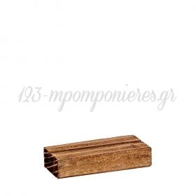 Ξύλινη Βάση 7X3X1.5cm - ΚΩΔ:M4749-1-AD