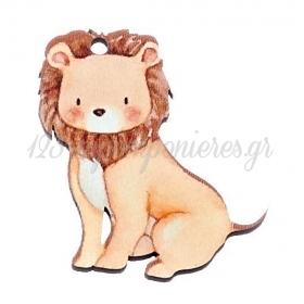 Ξύλινο Λιοντάρι 4X5cm - ΚΩΔ:M10441-AD