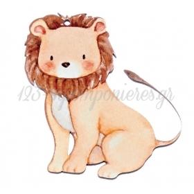 Ξύλινο Λιοντάρι 9X10cm - ΚΩΔ:M10442-AD