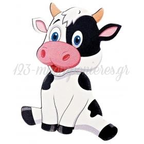 Ξύλινη Αγελάδα 10X8cm - ΚΩΔ:M4734-AD