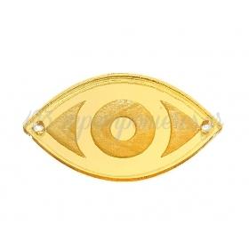 Plexiglass Μάτι 3.5X2cm - ΚΩΔ:M4743-AD