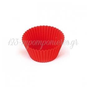 Θήκες ψησίματος cupcake σιλικόνης Silikomart- ΚΩΔ:00000566-SW