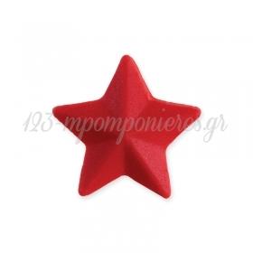 Αστέρι κόκκινο βρώσιμο 30mm - ΚΩΔ:00000793-SW