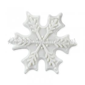 Χιονονιφάδες λευκές βρώσιμες 60mm - ΚΩΔ:00000825-SW