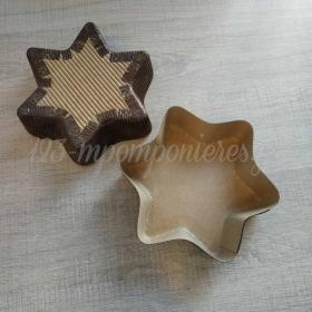 Φόρμα μιας χρήσης αστέρι 13,5cm - ΚΩΔ:00003534-SW