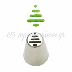 Κορνέ χριστουγεννιάτικο δέντρο - ΚΩΔ:00005530-SW