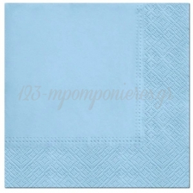 Χαρτοπετσέτες Γαλάζιες 33X33cm - ΚΩΔ:SDL110205-BB