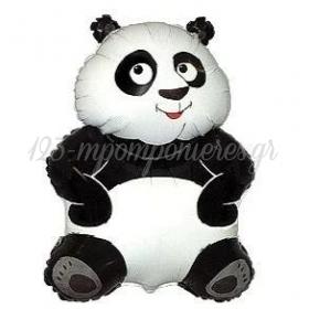 """Μπαλόνι Foil 24""""(60cm) Αρκουδάκι Panda - ΚΩΔ:901670-BB"""