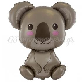 """Μπαλόνι Foil 24""""(60cm) Αρκουδάκι Κοάλα - ΚΩΔ:901798-BB"""