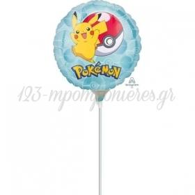 "Mπαλόνι Foil 9""(23cm) Mini Shape Pokemon - ΚΩΔ:536335-BB"