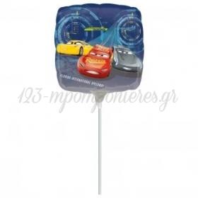 "Mπαλόνι Foil 9""(23cm) Mini Shape Cars 3 - ΚΩΔ:535372-BB"