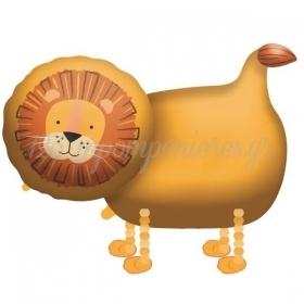 Mπαλόνι Foil 96X59cm Walking Λιοντάρι - ΚΩΔ:9909717-BB