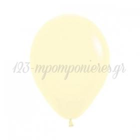 Mπαλόνι Λάτεξ 5''(13cm) Κίτρινο Pastel Matte - ΚΩΔ:13506620-BB