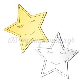 Plexiglass Αστέρι 7cm - ΚΩΔ:M4705-AD