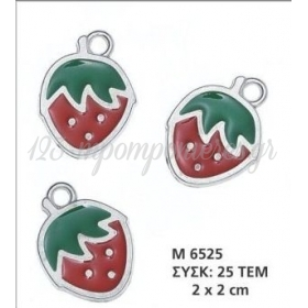 Φραουλα Διακοσμητικη - ΚΩΔ: M6525-Ad