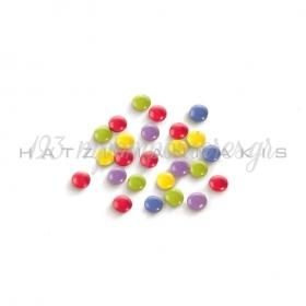 Κουφετακια Σοκολατας Πολυχρωμα Μονοκιλη Συσκευασια Mini Rondo Βεβε - ΚΩΔ:162151