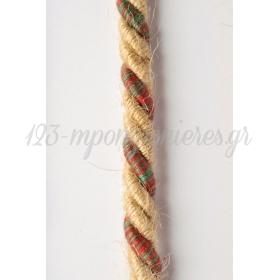 Κορδονι Τρικλωνο Λινατσα Χρωματιστο 8Mm X 15M - ΚΩΔ:5803Xr-Nt