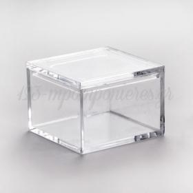 Κουτί Ακρυλικό Τετράγωνο - ΚΩΔ.: R011-Pr