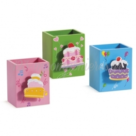 Μολυβοθηκες Cupcakes - ΚΩΔ.: Mp-13E301-Pr