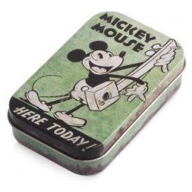 MICKEY MOUSE ΜΕΤΑΛΛΙΚΗ ΚΑΣΕΤΙΝΑ 2,2X6,2X10 ΕΚΑΤ. - ΚΩΔ: TK56565-PR
