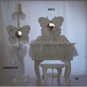 Βαπτιστικα Για Κοριτσια - Σετ 3 Τμχ- ΚΩΔ: Lampk619-K812-K9