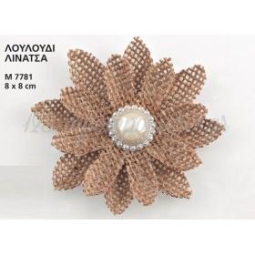 Λουλουδι Λινατσα 8 X 8 Εκατ. ΚΩΔ:M7781-Ad