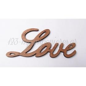 ΞΥΛΙΝΟ ΔΙΑΚΟΣΜΗΤΙΚΟ LOVE 18X9ΕΚΑΤ. - ΚΩΔ:6001-MC
