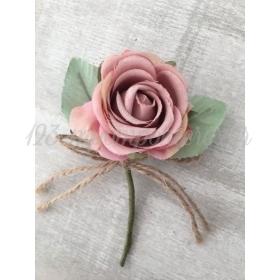 Τριανταφυλλο Ροζ Υφασματινο - ΚΩΔ:B33-Rn